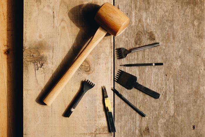 手縫いの道具
