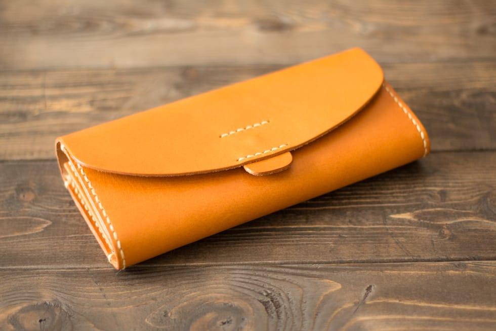 革の長財布01