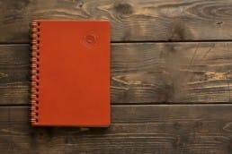 革のノートA6