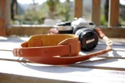 本革レザーカメラストラップ