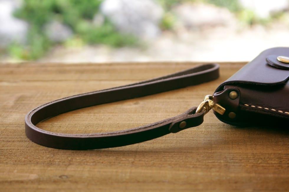 革製ハンドストラップ