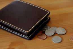 二つ折りの革財布03
