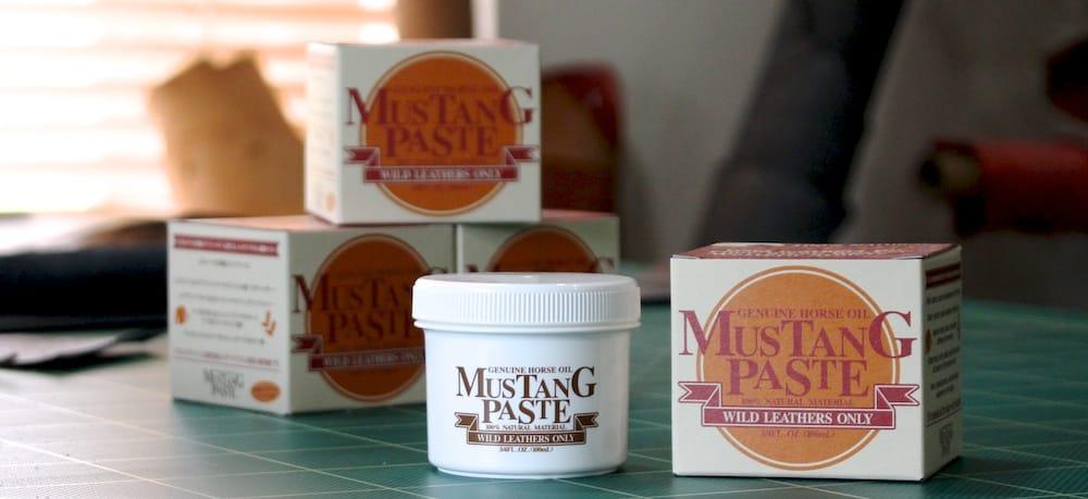 革のメンテナンス用品「Mustang Paste(マスタングペースト)」