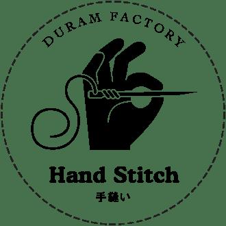 手縫いロゴ