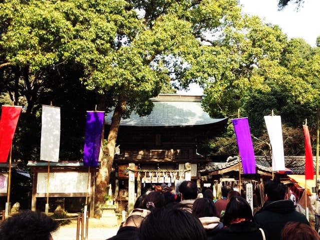 櫻井神社へ初詣