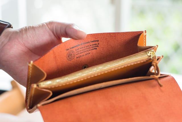 革財布ハンドメイドのロゴ