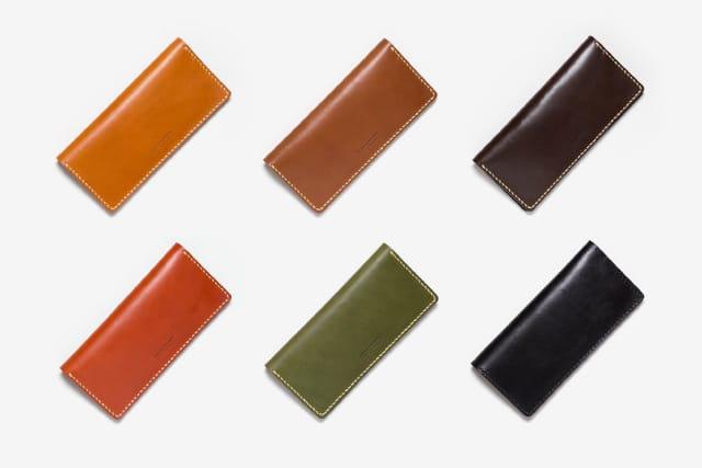 長財布のカラーバリエーション