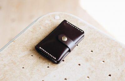 カードポケット付きキーケース