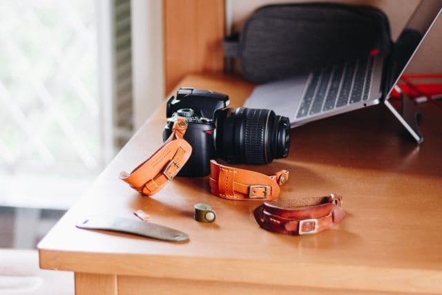 カメラストラップ、試作中